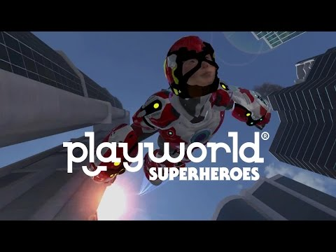 Playworld Superheroes - Создаем своего супергероя на Android (Обзор/Review)
