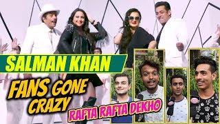 Salman Khan Fans Gone Crazy | Rafta Rafta Song Public Reaction | Yamla Pagla Deewana Phir Se