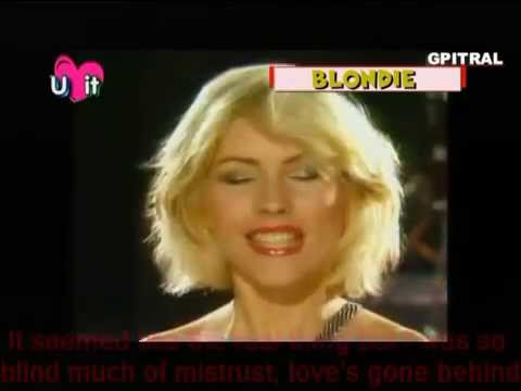 Blondie - Heart of glass ( with lyrics) subtitles 1979 Parallel Lines