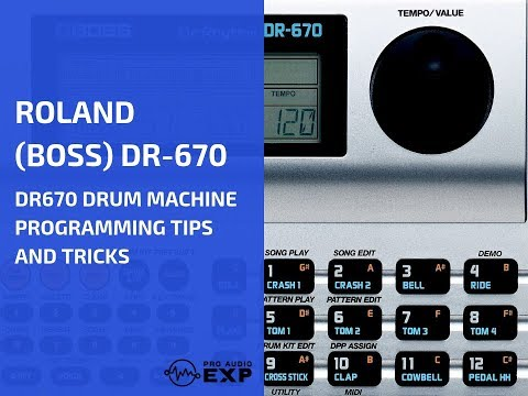 boite a rythme boss dr 670