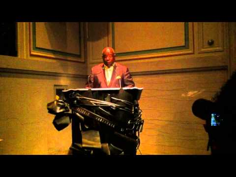 Detroit City Chess Club - anual awards - Invocation Robert Thorton