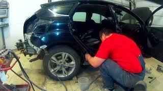 Форд Фокус ремонт бокового удара Н Новгород