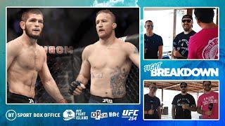 UFC 254: Khabib v Gaethje full fight breakdown   Open Mat with Dan Hardy from Fight Island!