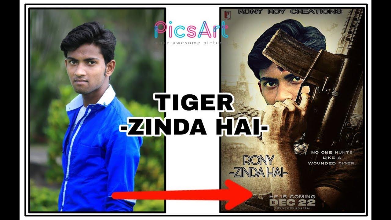 tiger zinda hai poster photo editing picsart photo editing tutorial tiger zinda hai edit zone