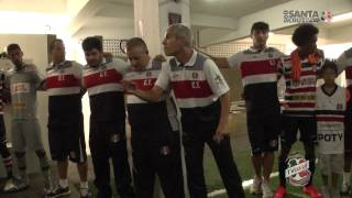 TV Coral - BASTIDORES DO TÍTULO - Santa Cruz 1x0 Salgueiro - FINAL - PE 2015