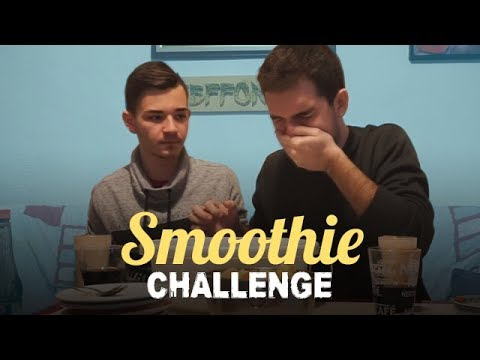 SMOOTHIE CHALLENGE!! w/ GP
