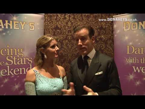 Anton Du Beke & Erin Boag BBC Strictly Come Dancing Stars