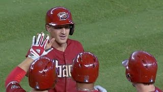Deflected ball helps send D-backs home winners