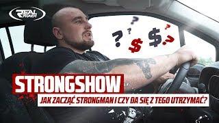 StrongShow - Jak zacząć Strongman i czy da się z tego utrzymać