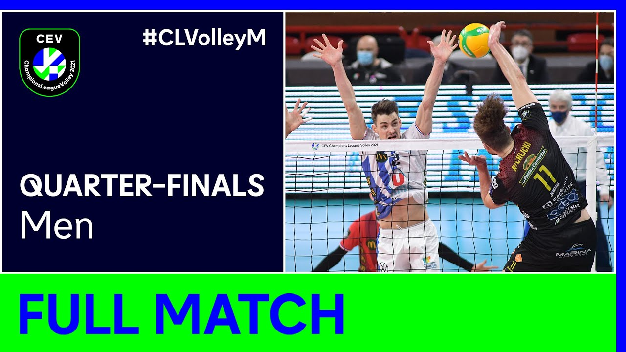 Cucine Lube CIVITANOVA vs. Grupa Azoty KĘDZIERZYN KOŹLE - CEV Champions League Volley 2021 Men QF