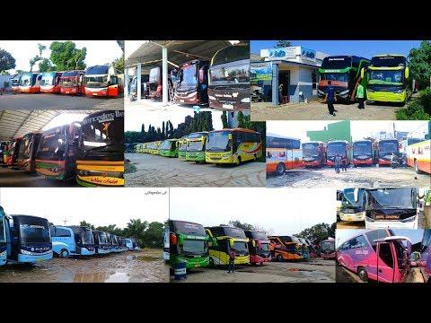 26 Pool Garasi Bus Yang Pernah saya kunjungi