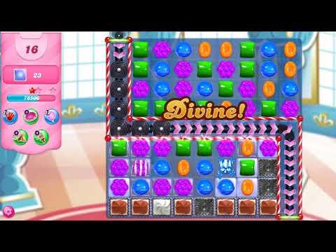 Candy Crush Saga Level 3607 NO BOOSTERS
