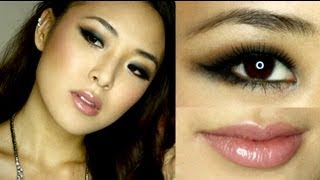 smoky eye prom makeup tutorial