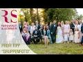 Profi-Tipp: Gruppenfoto auf Hochzeit als Panorama fotografieren