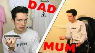 Telling my mum & dad i failed my alevel exam *live reactions* (bad epq results 2017)