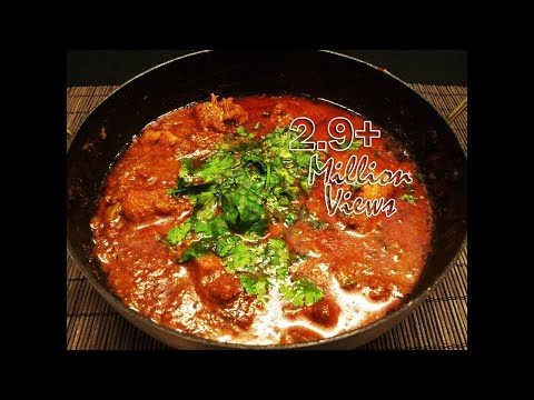 Andhra chicken Curry - Murgh curry with rich gravy