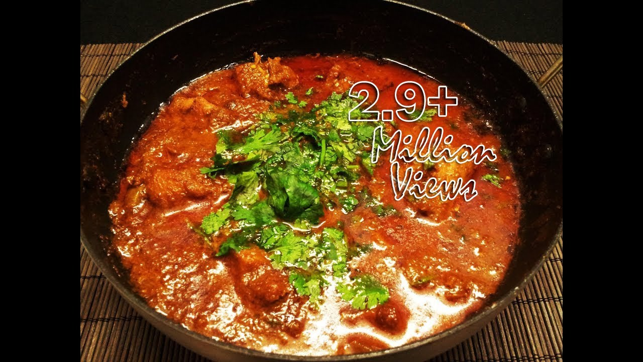 Andhra chicken Curry - Murgh curry with rich gravy - YouTube
