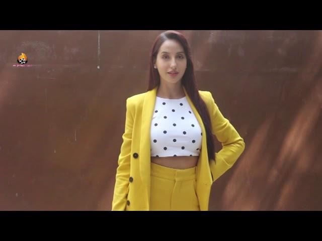 Nora Fatehi snapped at T series for her song saki saki