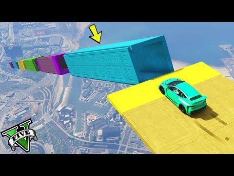 GTA 5 ONLINE 🐷 TUNNEL RARO !!! 🐷 GARE PARKOUR 🐷N*299🐷 GTA 5 ITA 🐷 DAJE !!!