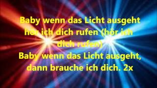 Baby when the lights - David Guetta feat. Cozi - deutsche Lyrics/Übersetzung