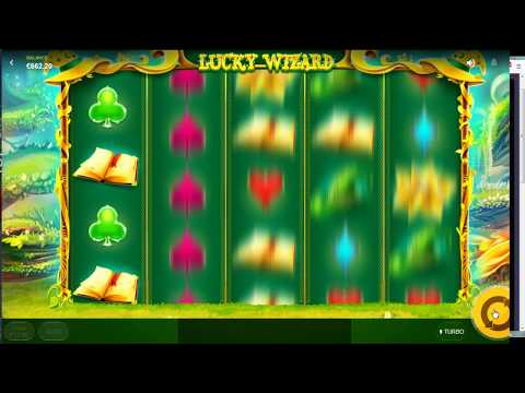 LUCKY WIZARD online slot machine - winner or busted ???