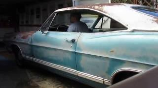 1967 Ford Galaxie  with no boxes .