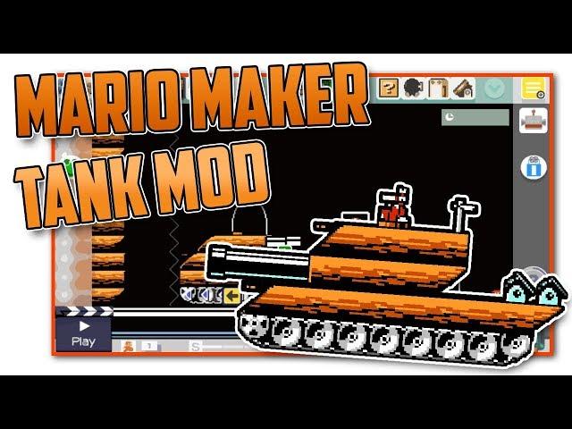 Tanks in Mario Maker?! - Super Mario Maker Mod