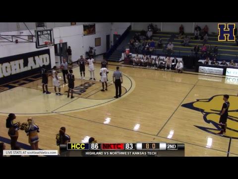 HCC Scottie Classic- Highland vs Northwest Kansas Technical College (MEN)