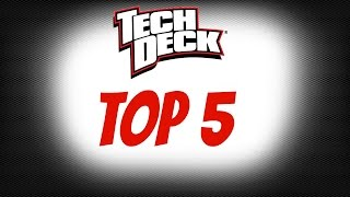 Top 5 Best Tech Deck Products!