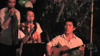 Vùng Trời Bình Yên - Phạm Hữu Tâm - Mộc Guitar Club Cover ft Phương Thảo