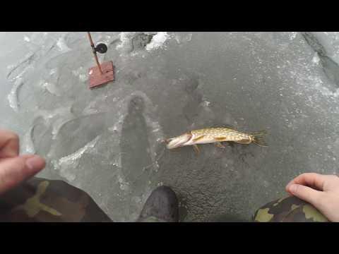Рыбалка на жерлицы при низком давлении