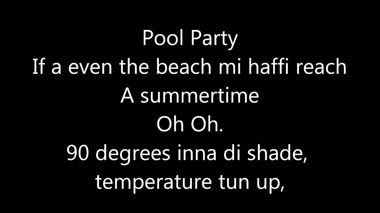 Vybz Kartel Summertime Lyrics