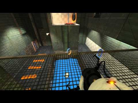 Tom Plays Portal 2: Part 8 - The World of Yesterday