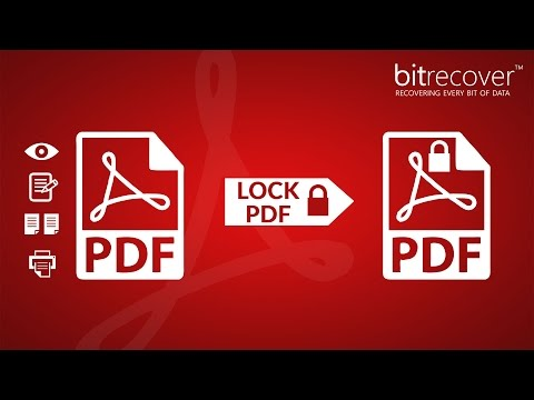 How To Create PDF Password And Lock PDF File From Printing Or Copying