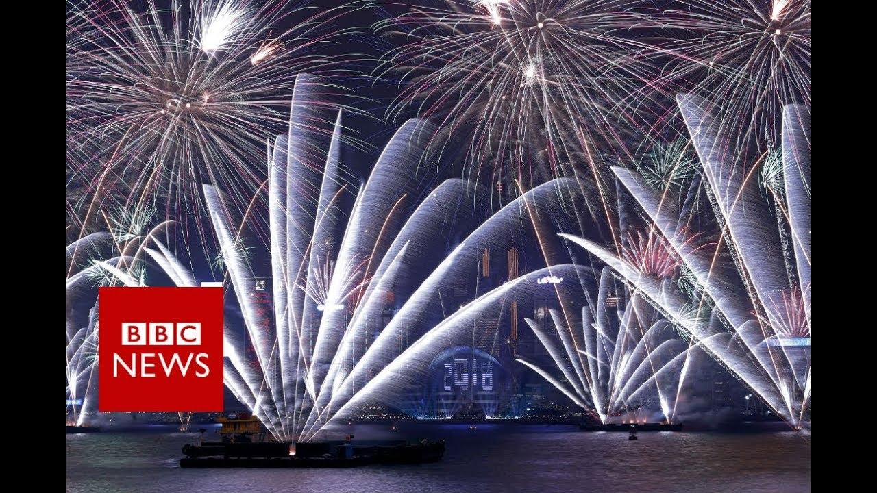New Year 2018: Hong Kong\'s celebration- BBC News - YouTube