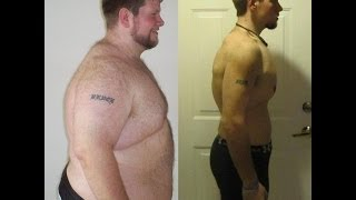 P90X transformation 170lbs lost - Dan Bruce