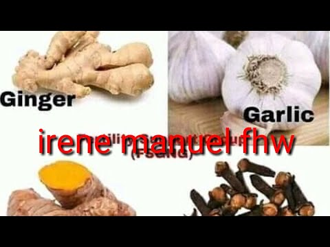 Side effects of using Garlic, Ginger, Turmeric and Clove - Action