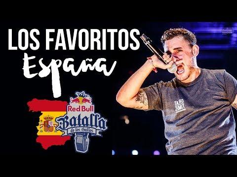 Los FAVORITOS De La RED BULL ESPAÑA 2018 | B Producciones