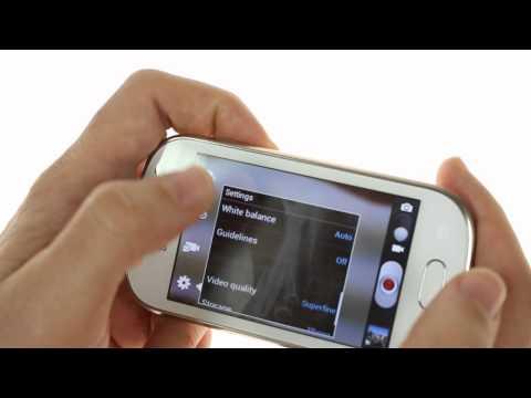 Samsung Galaxy Fame user interface