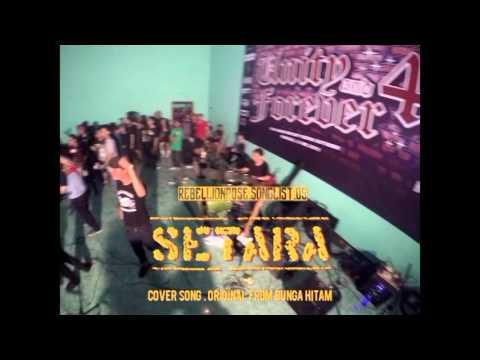 Rebellion Rose Live KEDIRI PART.1 Setara (Bunga Hitam) Cover & Lazy Cunt
