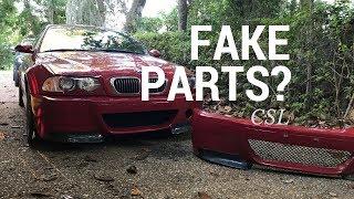 BMW M3 CSL Replica Parts - Should You Buy Them?