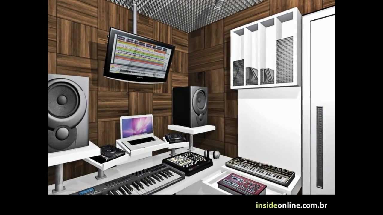 Inside Arquitetura Design Projeto E Obra Home Studio Espa O Do Dj Youtube