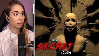 Escape room game with amazing narrative - Our Secret Below (All endings)