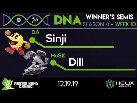 DNA S4:W10 - DA | Sinji (Pacman) Vs. Ho3K | Dill (ROB) - W Semifinals