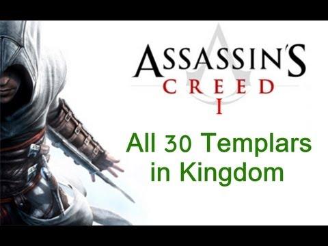 """Assassin's Creed 1"", All 30 Templars Locations In Kingdom"
