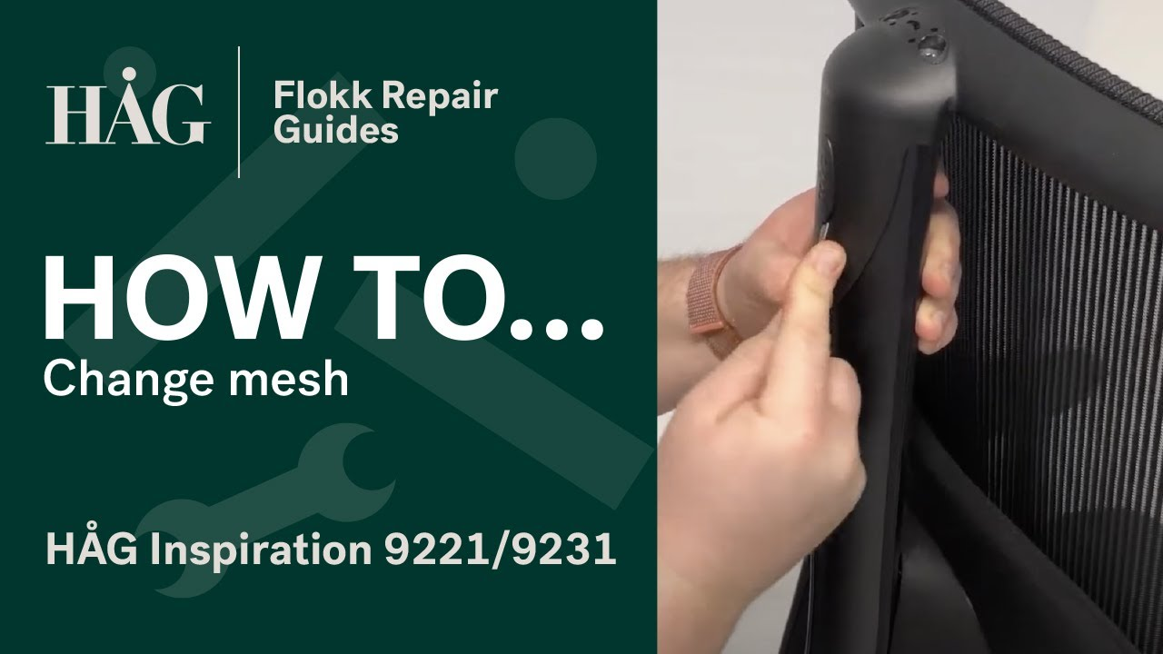 Hag Inspiration 9221 9231 Flokk Repair Guide Youtube