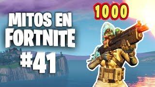 ¿¡Más de 1000 puntos de daño!? - Mitos Fortnite - Episodio 41