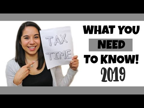 2019 Taxes: Changes And Tips!