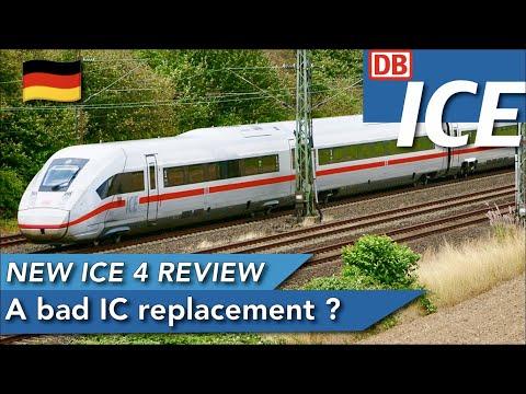 DB ICE (2ND CLASS)   ICE 4 BR 412   Hamburg Hbf 🇩🇪 - Berlin Hbf 🇩🇪