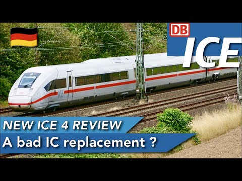 TRIP REPORT | DB ICE (2ND CLASS) | ICE 4 BR 412 | Hamburg Hbf 🇩🇪 - Berlin Hbf 🇩🇪